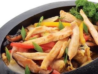 Лапша Фунчоза + соус Жгучая Азия с цыпленком
