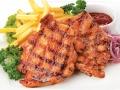 Лапша Фунчоза + соус Желтый карри и кокос с цыпленком