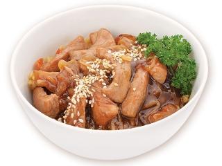 Лапша Шанхай + соус Жгучая Азия с цыпленком