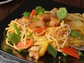 Лапша Шанхай + соус Оранж-Терияки с цыпленком