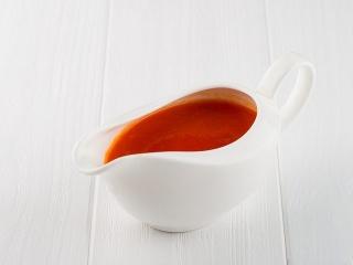 Лапша Рамен + соус Оранж-Терияки с морепродуктами