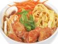 Лапша Харусаме + соус Кисло-сладкий с морепродуктами