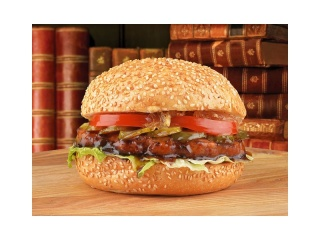 Бургер Джек Дэниэлс с цыпленком