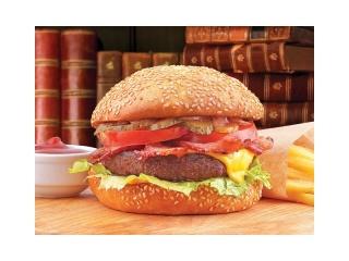 Бургер Особый со свино-говяжьей котлетой
