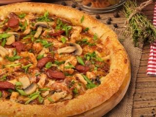 Азиатская пицца