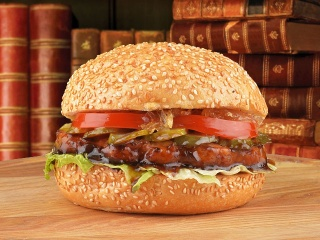 "Бургер ""Джек Дэниэлс"" с цыпленком"
