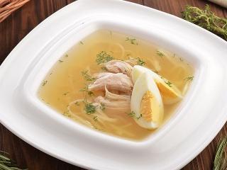 Суп с цыпленком и лапшой