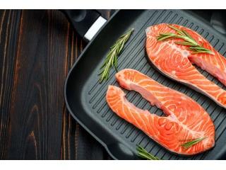 Стейк из лосося  (для домашнего приготовления)